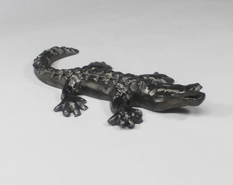 Carved Handmade Alligator