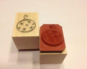 small ornament stamp , 20 mm (JJ)