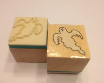 small Ghost rubber stamp, 25 mm (HR45)