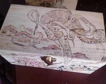 Jewelry Box, the Octopus and Her March Across the Sea Floor