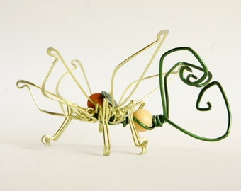 butterfly art · wire sculpture · butterfly sculpture · decorative sculpture · decorative butterfly · insect sculpture · wire art ·