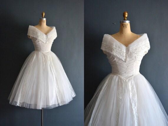 Valenti / 50s wedding dress / short wedding dress