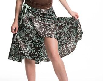 tango wrap skirt, tango dance, skirt with front slit, dance wear, Argentine tango, tango clothing, tango skirts, dance fashion, milonga