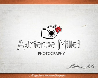 Photography Logo and Watermark...Logo design...Pre made logo design...Camera logo BUY 2 and GET 1 FREE!!!