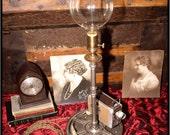 Industrial movie theme lamp