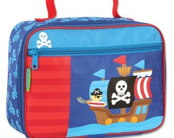 Personalized Stephen Joseph Pirate Lunch Box
