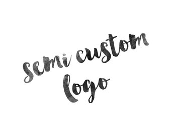 Semi-Custom Logo Design