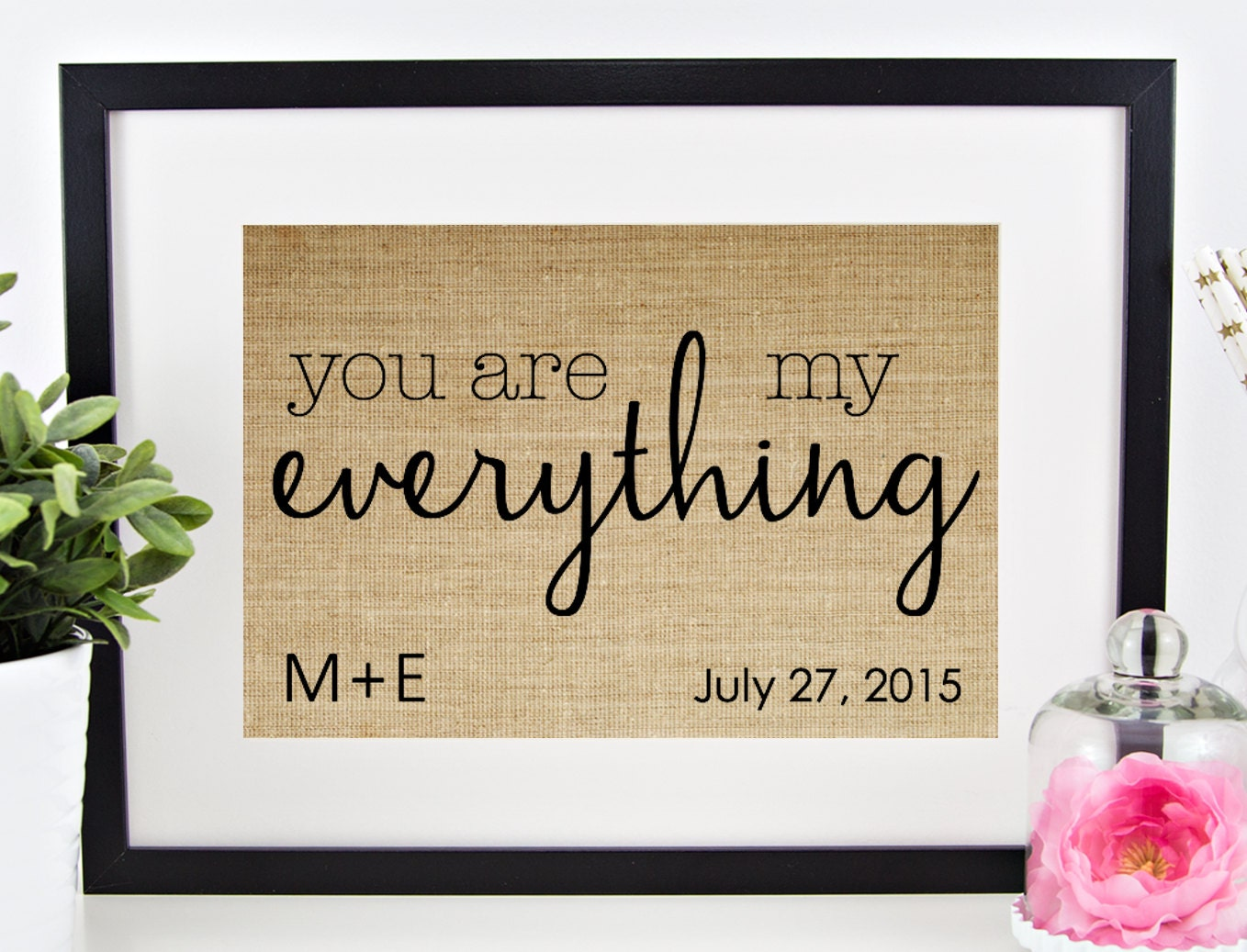 Wedding Gift Personalised: Bridal Shower Gift Personalized Wedding Gift For Couple
