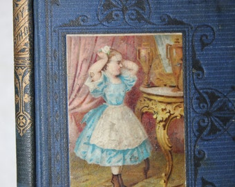 My Tenth Birthday and Other Stories, Grandmother's Tales 1871, Antique Books, Vintage Books, Blue Book, Blue Decor, Children's Book, Little