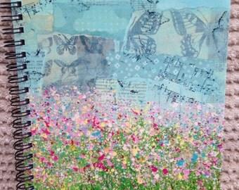 Splatter Flower A5 Notebook