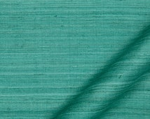 Turquoise Silk Fabric - Solid Silk Fabric for Light Furniture Upholstery - Turquoise Wedding Table Linen Fabric - Silk Throw Pillow Online