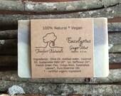 Eucalyptus Ginger Mint Soap - Handmade Cold Process, All Natural, vegan, essential oils, natural soap