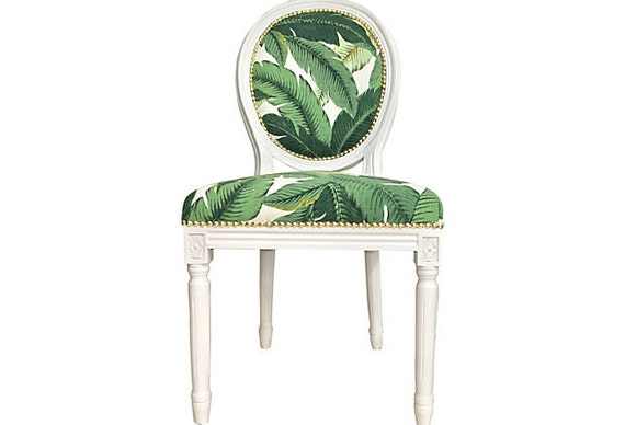 Banana Leaf French Louis Fauteuil French Louis Style Dining