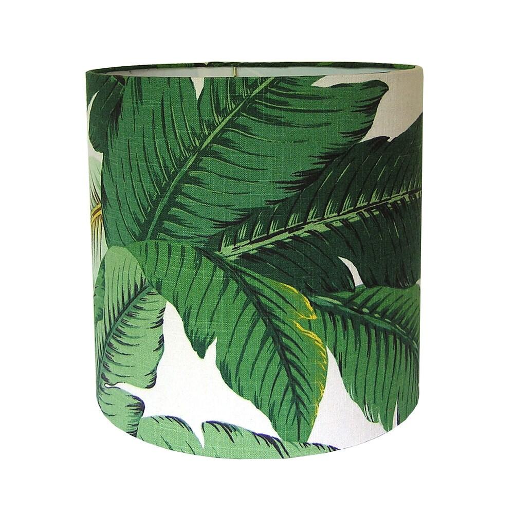 Custom Lamp Shade Tropical Lamp Shades Green Lampshade