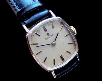 Omega watch 14K gold