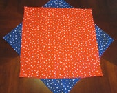Table topper Red white and blue with stars