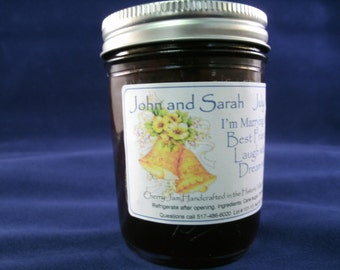 Wedding Jelly or Jam 12 jars of Homemade Beckeys Kountry Kitchen preserves handcrafted artisan quality wedding party gifts baby shower gift