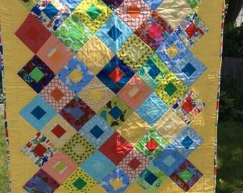 Scrappy Children 's Quilt