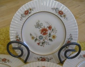 Lenox Temple Blossom Dinner Plates Brand NEW old stock, Temple Collection Gold backstamp, Set of 4 included
