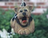 Airedale Terrier Birdhouse, dog birdhouse, dog bird house