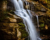Sacred Waterfall, Standing Rock Falls, Western North Carolina, Old Fort Gateway Mountain, Asheville, NC Blue Ridge Mountains, Photography