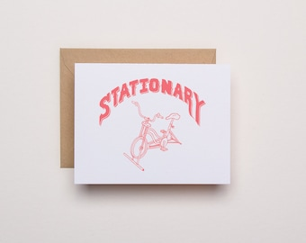 Stationary - Letterpress Card