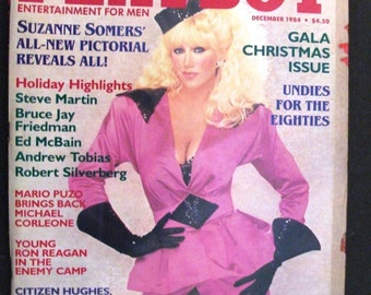 Playboy Magazine December 1984