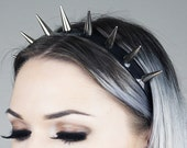 Spiked Headband | Silver Spiked Headband | Headband | Crown | Spiked Crown | SUPER SPIKE CROWN | Kadabra