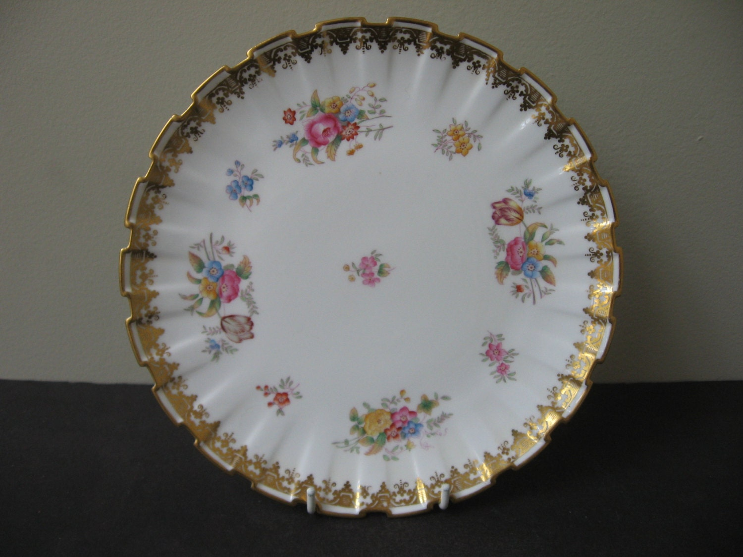 Vtg COPELANDS CHINA T Goode & Co. London 9 Luncheon