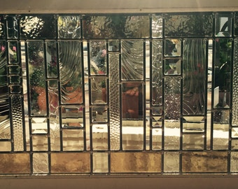 Stained Glass Modern Brown