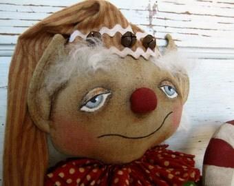 Made to Order~Primitive Folk Art ~Elvin Elf Doll Set~HAFAIR