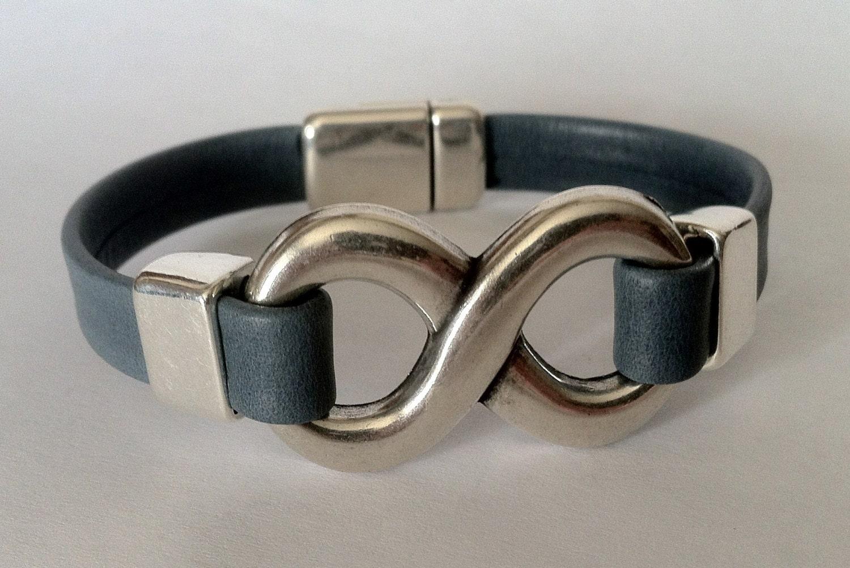 Infinity For Mens Infinity Bracelet Leather Bracelet For