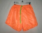 90s neon shorts size medium