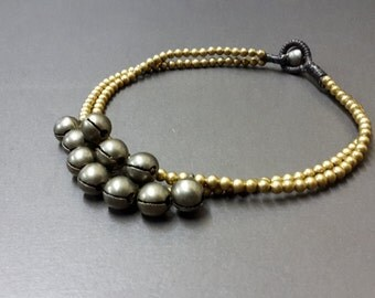 Anklet Brass Chain Jingling