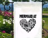 Mermaid At Heart New Small Garden Yard Flag Beach Summer Gifts Events