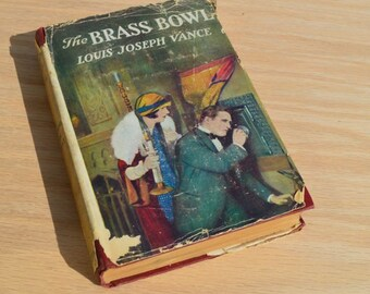 The Brass Bowl by Louis Joseph Vance 1907 Vintage Photoplay book starring Edmund Lowe