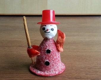 Vintage Snowman Decoration