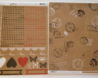 New Kaisercraft - Mix & Match Collection - 12 x 12 Double Sided paper Bundle