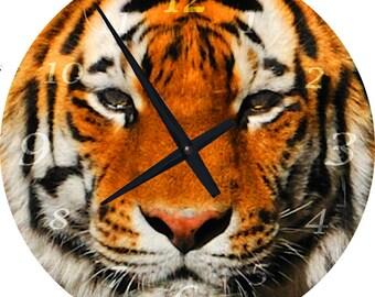 Tiger 16 inch Wall Clock