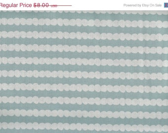 CLEARANCE Beaded Stripe in Soft Blue from Tiny Dancers by Melimba for Kokka