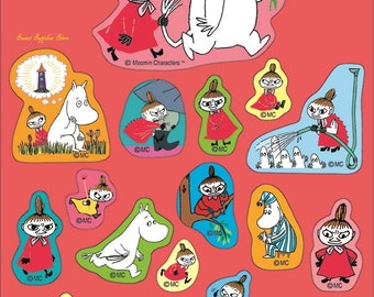 Little My & Moomin Stickers (BM020-79)
