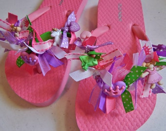 GIRL'S PRINCESS SHOES---flip flops