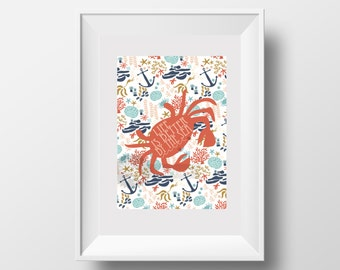 Life is better by the sea 5x7 print