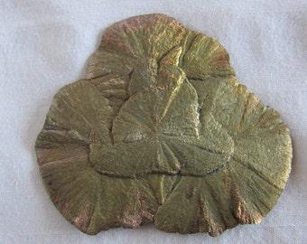 Vintage Pyrite Dollar Mineral Rock Specimen