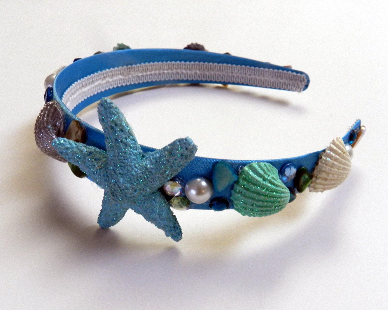 mermaid crownmermaid costume Headband under the sea bithday