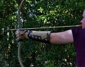 USA Leather Archery Bracer (Americana Style)
