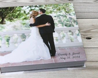 Personalized Wedding Photo Book 10X10 Cover Flush Mount Abum 30pages Albums Remembered