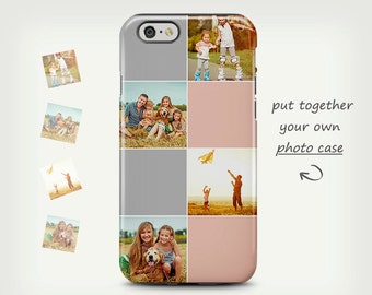 Photo Case iPhone 6 Cases Custom iPhone 5 Case Photo Case Gift Unique Samsung Galaxy Case Photo Collage Case iPhone 7 Personalized Cases