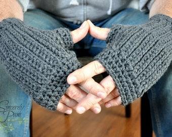 Taylor Fingerless Gloves Crochet Pattern pdf