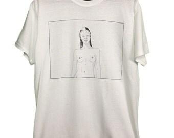 Kate Moss t-shirt medium